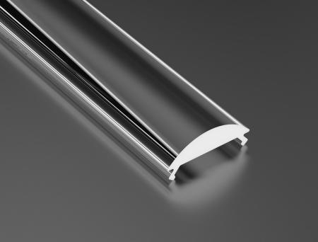 LED21 Transparentní difuzor KLIK PMMA 15 LENS pro profily LUMINES 1m A/B/C/D/G/H/Z/Y